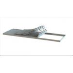 Напольная решетка НР2  200*1000, гибкий блок из жалюзи, скручивающийся в рулон, без рамы