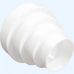 Соединитель универсальный ПУ15.12.10.8, центральный для круглых воздуховодов