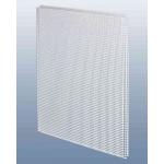 Потолочнаяе кассета 60х60 см., перфорация квадрат 3х5, для подвесного потолка., металл.,белая