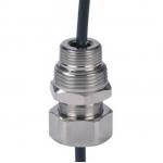 """Сальник для ввода кабеля в трубу 1/2"""" (никелированное покрытие)"""