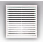 Решетка 3535РР разъемная вентиляционная 350х350