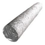 Воздуховод AF127, гибкий армированный, металлизированная пленка 70 мкм, L до 10м