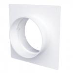 Соединитель 100 SKNP круглых каналов с накладной пластиной, диаметр 100мм.