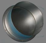 Заглушка вентиляционная d.125 (оцинк)