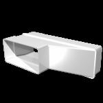 Соединитель 511РП620П, эксцентриковый прямоугольных воздуховодов 55х110/60х204