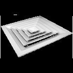 Потолочная решетка - диффузор 300*300