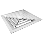 Потолочная решетка - диффузор 450*450