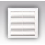 Решетка 2525Р разъемная вентиляционная с сеткой 249х249
