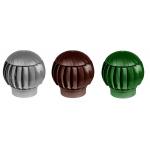 Турбина ротационная D160, коричневая, вентиляционная, пластик,  (нанодефлектор) RRTV 160 Brown